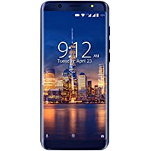 "NUU Mobile G3 5.7"" 64GB Unlocked Cell Phone - 4GB Ram Dual-SIM GSM 4G LTE - Dual Camera 13 MP Fingerprint ID Fast Charge"