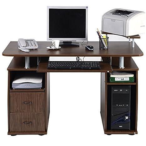 Amazon.com: tangkula computadora de computadora Estación de ...