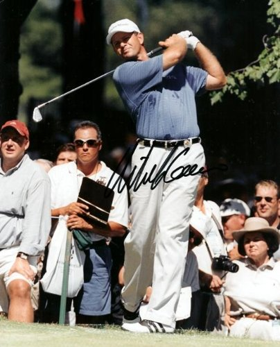 Retief Goosen Autographed Golf 8x10 Photo - PSA/DNA Certified - Autographed Golf Photos (Autograph Golf 8x10 Certified Photo)