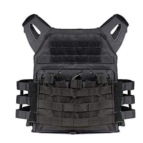 WTS Military Style Tactical Vest Molle System - 4 Color Options