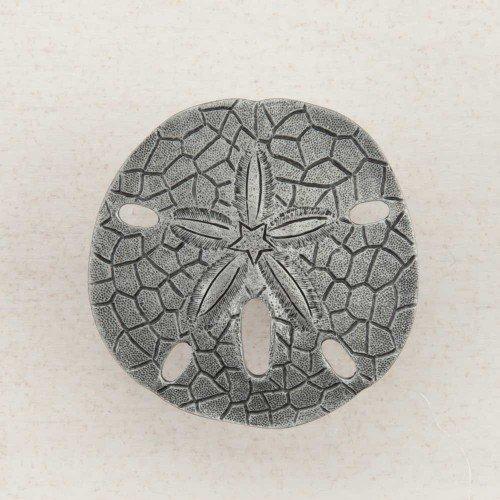 - Acorn Manufacturing DPDPP Artisan Collection Sand Dollar Knob44; Antique Pewter