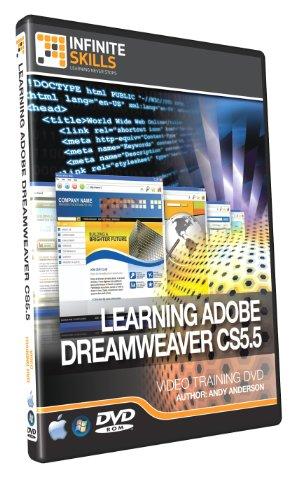 Beginners Dreamweaver CS5.5 Training DVD - Over 9 Hours o...