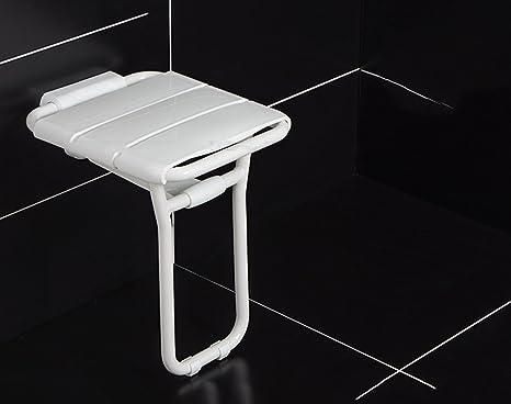 Cqq sedia bath sedia pieghevole per la stanza da bagno sicura
