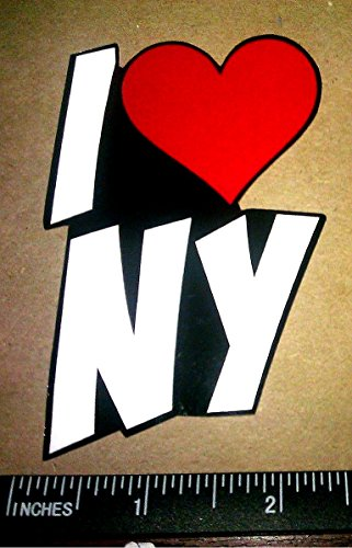 X2 I Love New York / Ny Vinyl Decal Sticker JDM Cute Fan Time Square -