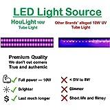 HouLight LED Tube Black Light for Blacklight
