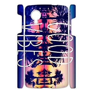 Canting_Good Good Vibes Sunset Custom Case shin for Google Nexus 5 3D