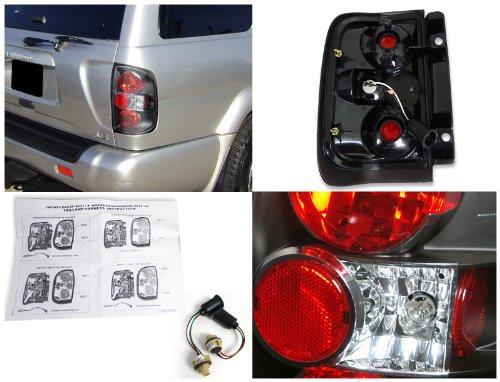 Spec-D Tuning LT-PATH96JM-TM Nissan Pathfinder//Infiniti Qx4 Black Altezza Tail Lights