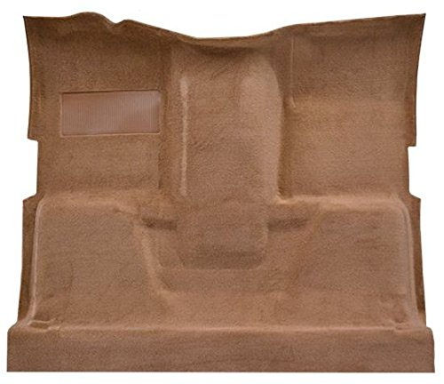 Truck Standard Cab Carpet - 1975 to 1980 GMC Standard Cab Pickup Truck Carpet Custom Molded Replacement Kit, 400 Transmission, High Tunnel (801-Black Plush Cut Pile)