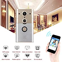 SINCERITY Wireless Wi-Fi Video Smart Doorbell Remote Control Electronic Visible HD 720P Video Picture 1 Mega-Pixels Wi-Fi Video doorbell