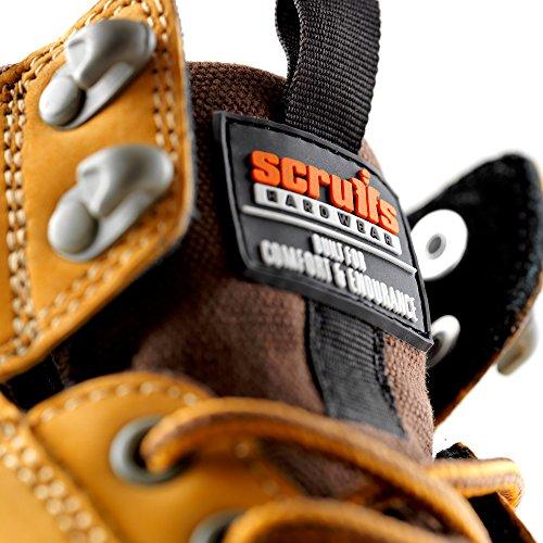 Marron SRA Sécurité Chaussures Switchback Adulte S3 Proteq Mixte HRO 2 de gv0awt