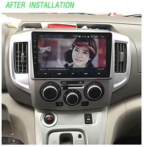 Enlace Espejo GPS Radio Pantalla t/áctil capacitiva est/éreo WY-CAR Android 8.1 en el Dash Car Stereo MP5 Player 9 Pulgadas para Nissan NV200 Bluetooth WiFi 2010-2016
