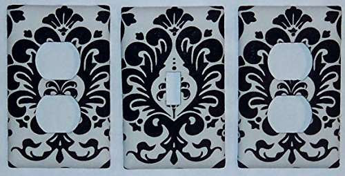Damask Design Switchplate /Oulet (Damask Switchplate)