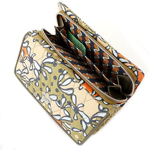 Lana Lei Tasche - Clutch Wallet - Curry