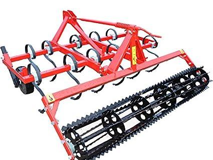 Cultivador 1,80 m, Cultivador con rodillo para las migas