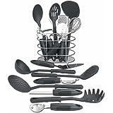 Maxam KTOOL172 17 Piece Kitchen Tool Set
