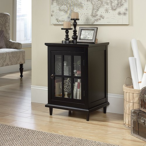 glass accent cabinet - 7