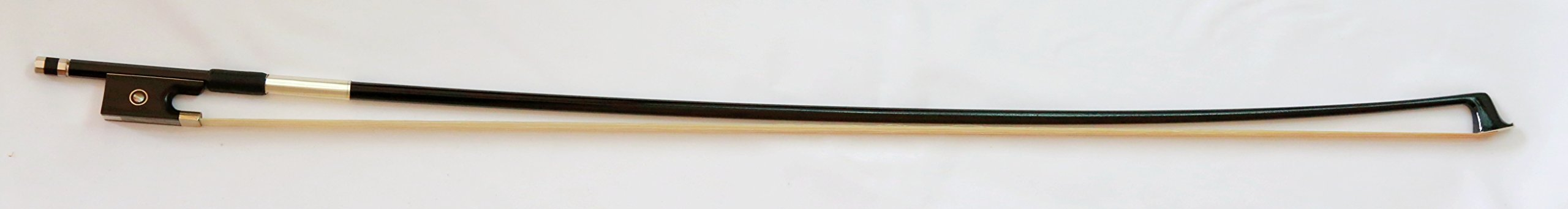Vio Music Top Carbon Fiber 4/4 Violin Bow, Ebony Frog