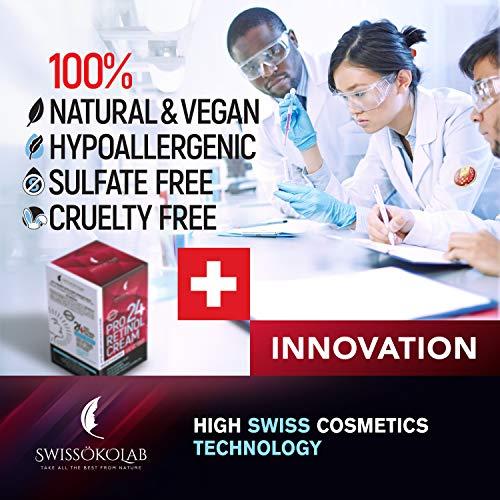 51SMTBMjV9L - Retinol Cream for Face Eye Neck Area - Day & Night Retinol Moisturizer - Anti Aging Face Cream with 2.5% Active Retinol Hyaluronic Acid - Firming Anti Wrinkle Cream for Men and Women