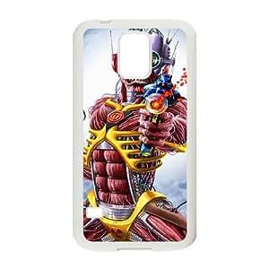 Samsung Galaxy S5 Cell Phone Case White Iron Maiden JSK853479
