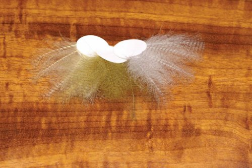 CDC Feather Barred ::: Fly Tying Material Light Dun