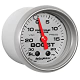 AutoMeter 200774-33 Marine Mechanical Vacuum/Boost Gauge