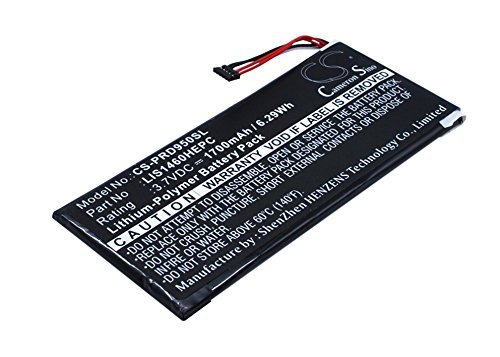 Cameron sino 1700mAh Li-Polymer Battery LIS1460HEPC 1-853-020-11 Replacement For Sony PRS-950 PRS-950SC Book eReader With Tools Kit