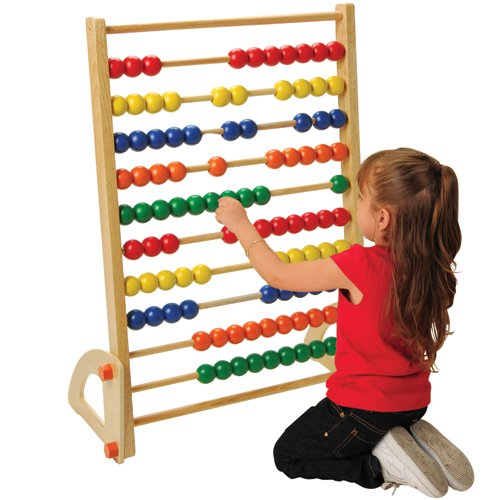 Giant Standing Abacus by Constructive Playthings