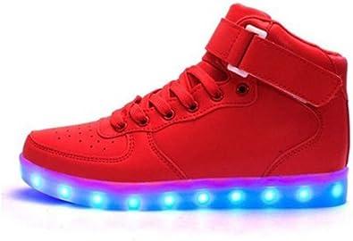 Littlepanda Boy Light up Shoes Red
