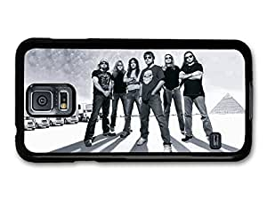 AMAF ? Accessories Iron Maiden Black and White Portrait Band case for Samsung Galaxy S5