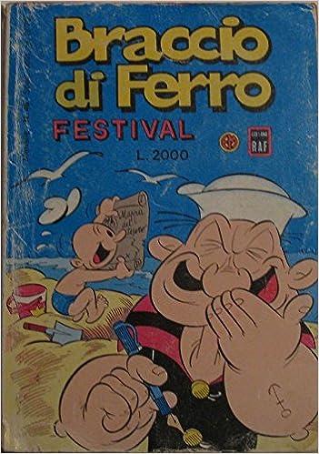 Book Braccio di ferro. Festival n°46 del agosto 1990