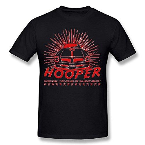 Man Hooper Men's Short-Sleeved Shoulder T-Shirt - Tan San Gilbert
