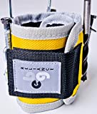 Magnetic Wristband Tool Holder - Stronger Magnets for Screws, Nails, Bit Holder, Power Tools, Tools for Men, DIY Handyman, Gifts for Men, Women, Father (Yellow)