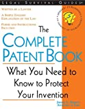 The Complete Patent Book, James L. Rogers, 157248201X