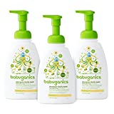 Body Wash Pump Babyganics Baby Shampoo + Body Wash, Chamomile Verbena, 16oz Pump Bottle (Pack of 3)