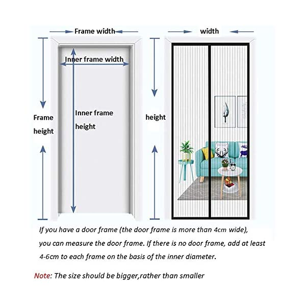 RSIOSL Zanzariera Magnetica per Finestre, Zanzariere per Finestre Ultra Silenzioso Chiudi Automaticamente per Casa… 7 spesavip
