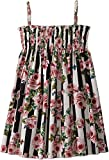 Dolce & Gabbana Kids Baby Girl's Sleeveless Dress (Toddler/Little Kids) Stripe Rose 5