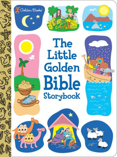 Bible Stories Board (The Little Golden Bible Storybook (Padded Board)