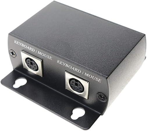 BeMatik - Extensor teclado y ratón UTP Cat.5 USB PS2 emisor y ...