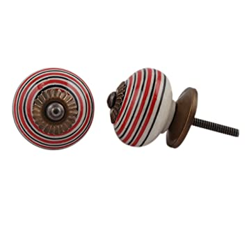 Indianshelf 10 piezas artesanales de cerámica negro con ...