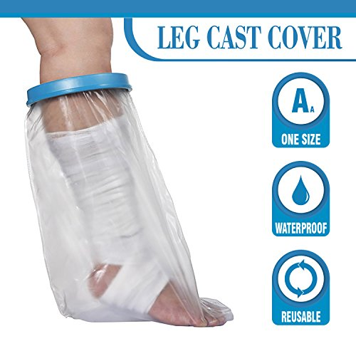 - Wilsco® Waterproof Leg Cast Cover for Shower by Wilsco LLC ~ Watertight Foot and Leg Cover