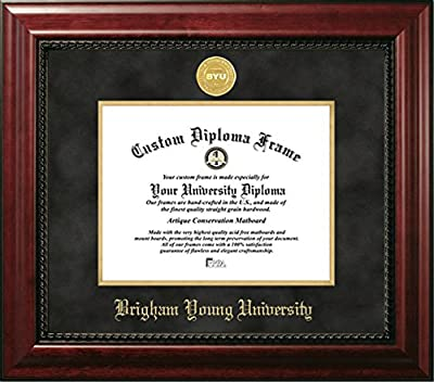 Brigham Young University Official Diploma Frame (8.5 X 11)