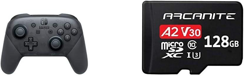 Nintendo Switch, Mando Pro Controller, Con Cable USB + ARCANITE ...