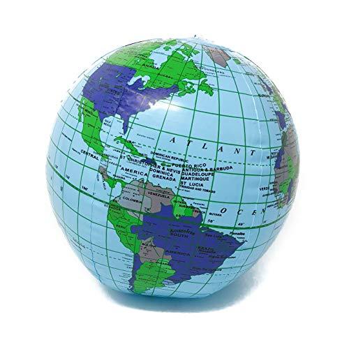 Podzly Inflatable World Globe - 11