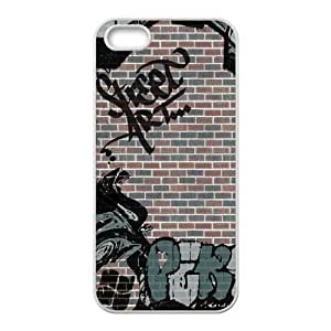 iPhone 4 4s Cell Phone Case White Graffiti Aptvb