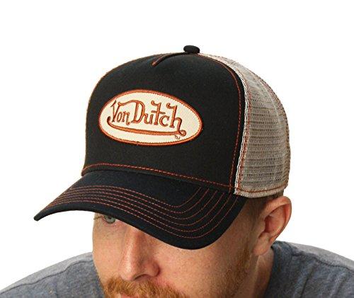 von-dutch-mens-logo-patch-trucker-hat-one-size-black-grey