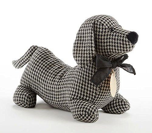 Delton Products Tweed Black Check Hot Dog