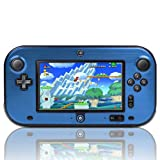 TNP Wii U Gamepad Case (Blue) – Plastic + Aluminium Full Body Protective Snap-on Hard Shell Skin Case Cover for Nintendo Wii U Gamepad Remote Controller For Sale