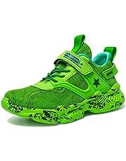 Wishliker Jungen Turnschuhe Leicht Atmungsaktiv Sportschuhe Laufschuhe Low-Top Sneaker
