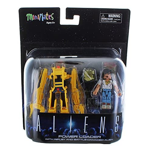 Cheap Aliens Minimates Deluxe Power Loader with Ripley & Battle Damaged Alien supplier
