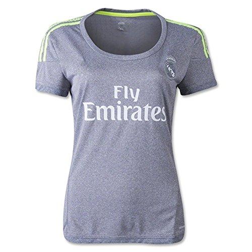 8e4f0461327 Women s USNC8K 2016 UEFA Champions League Real Madrid CF DIY Name Away  Football Soccer Jersey In